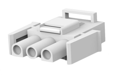 TE Connectivity , Universal MATE-N-LOK II Male Connector Housing, 6.35mm Pitch, 3 Way, 1 Row (5)