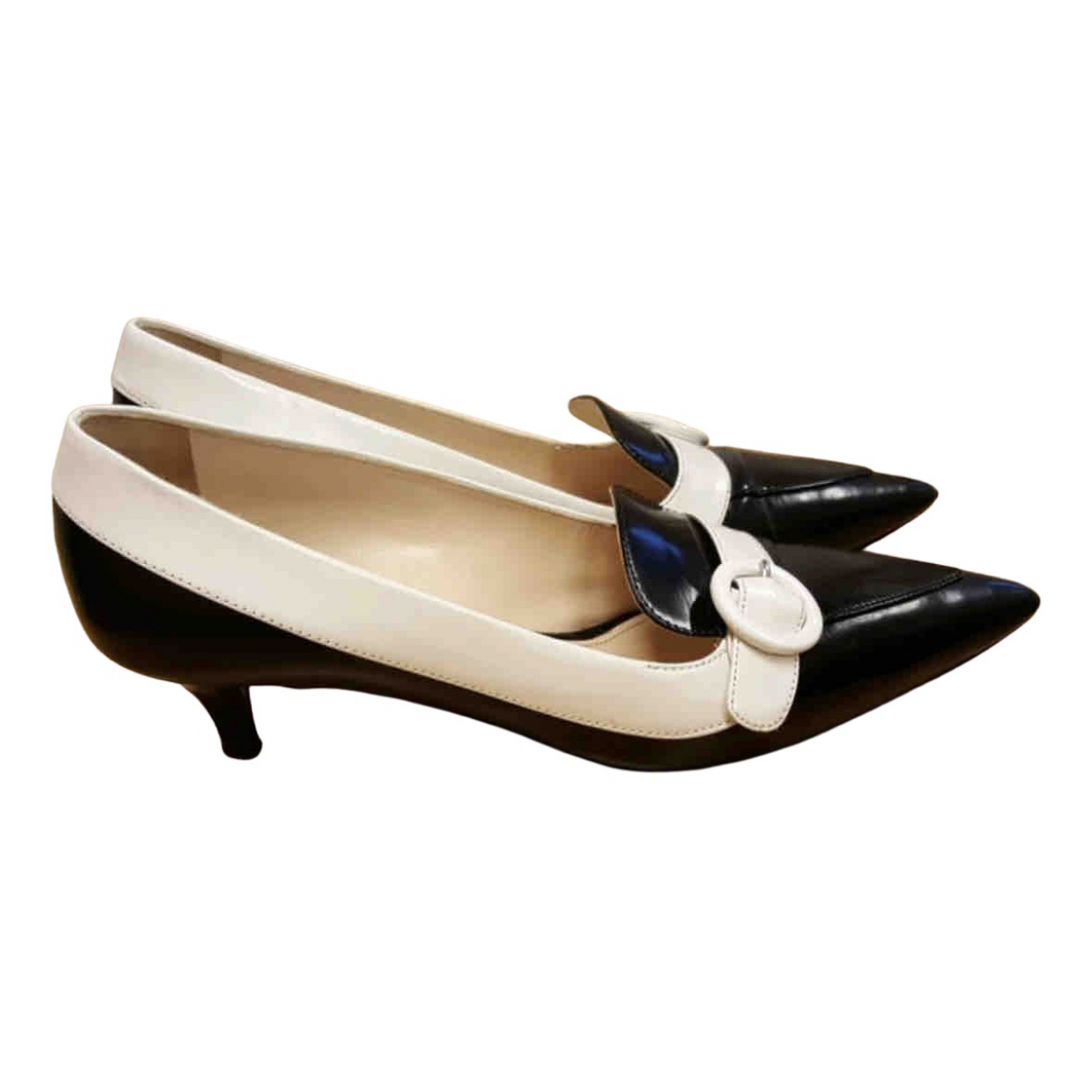 Prada N Multicolour Leather Heels for Women 36 EU