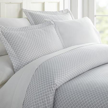 Casual Comfort Premium Ultra Soft Polaris Duvet Cover Set, One Size , Gray