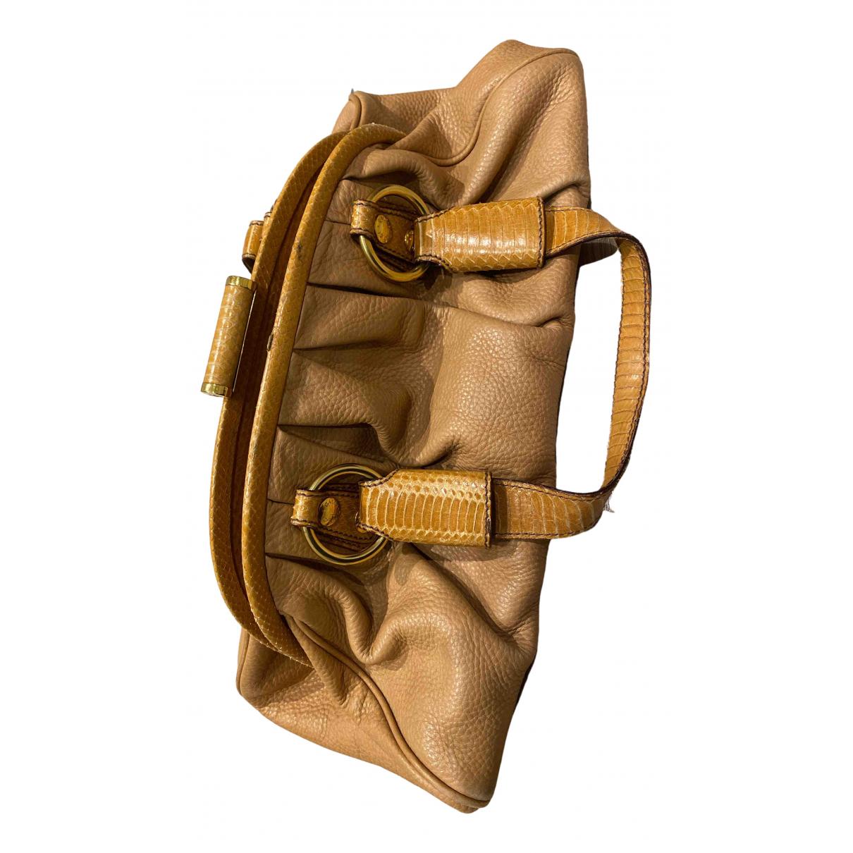 Dolce & Gabbana N Beige Python handbag for Women N