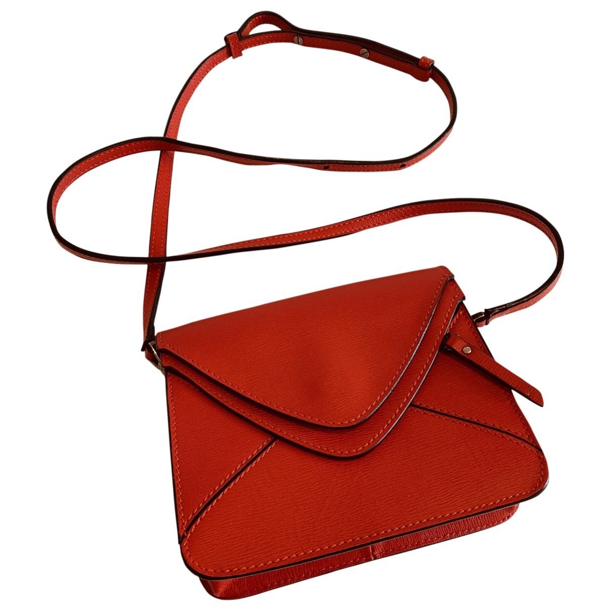 Boyy - Sac a main   pour femme en cuir - rouge
