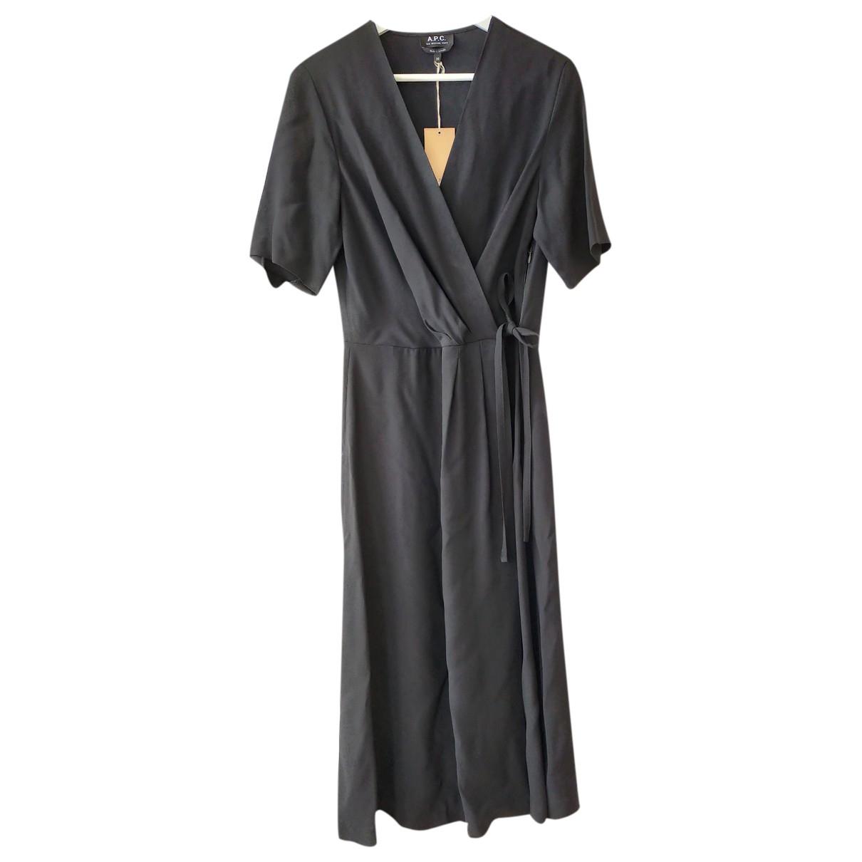 Apc - Robe   pour femme - noir