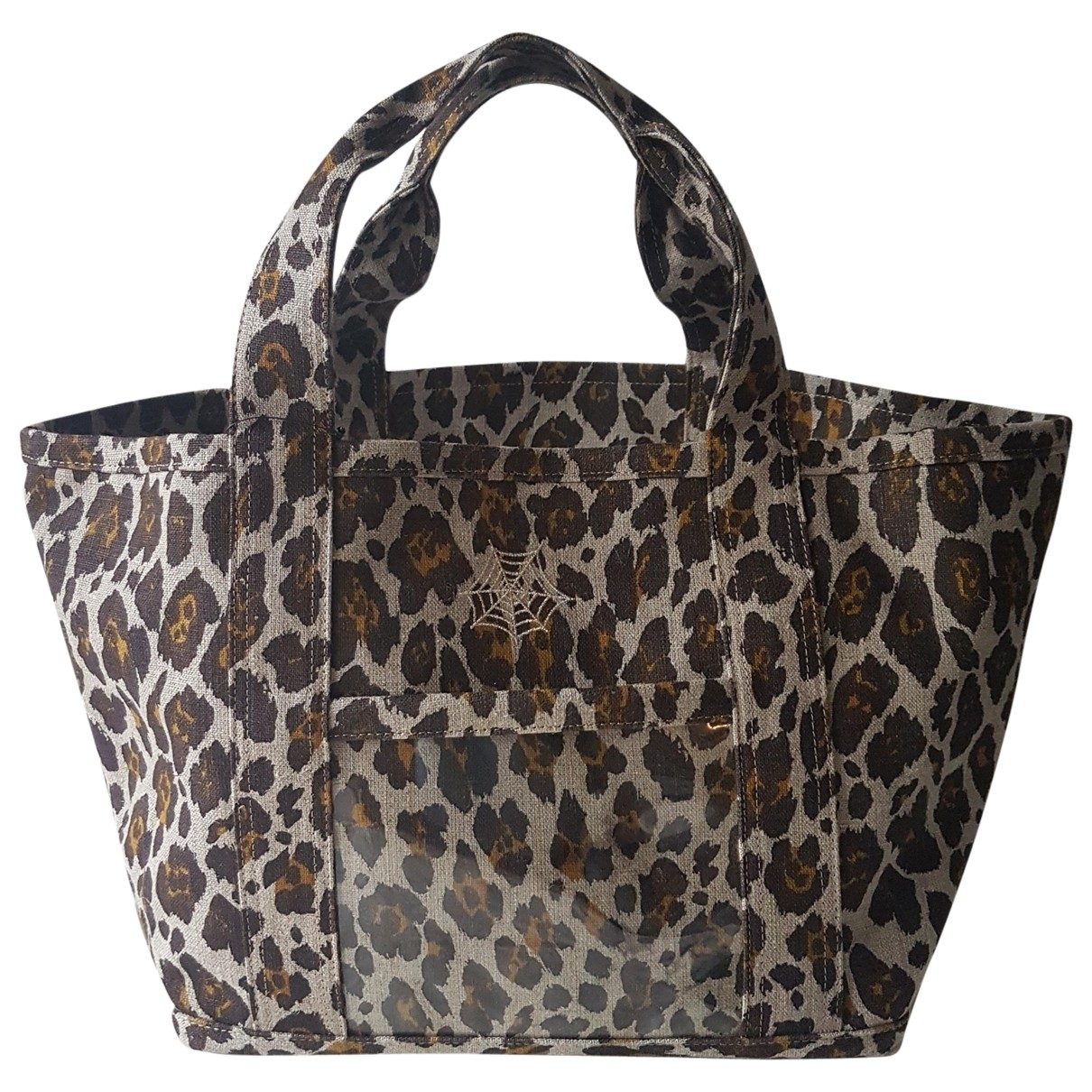 Charlotte Olympia \N Brown Cloth handbag for Women \N