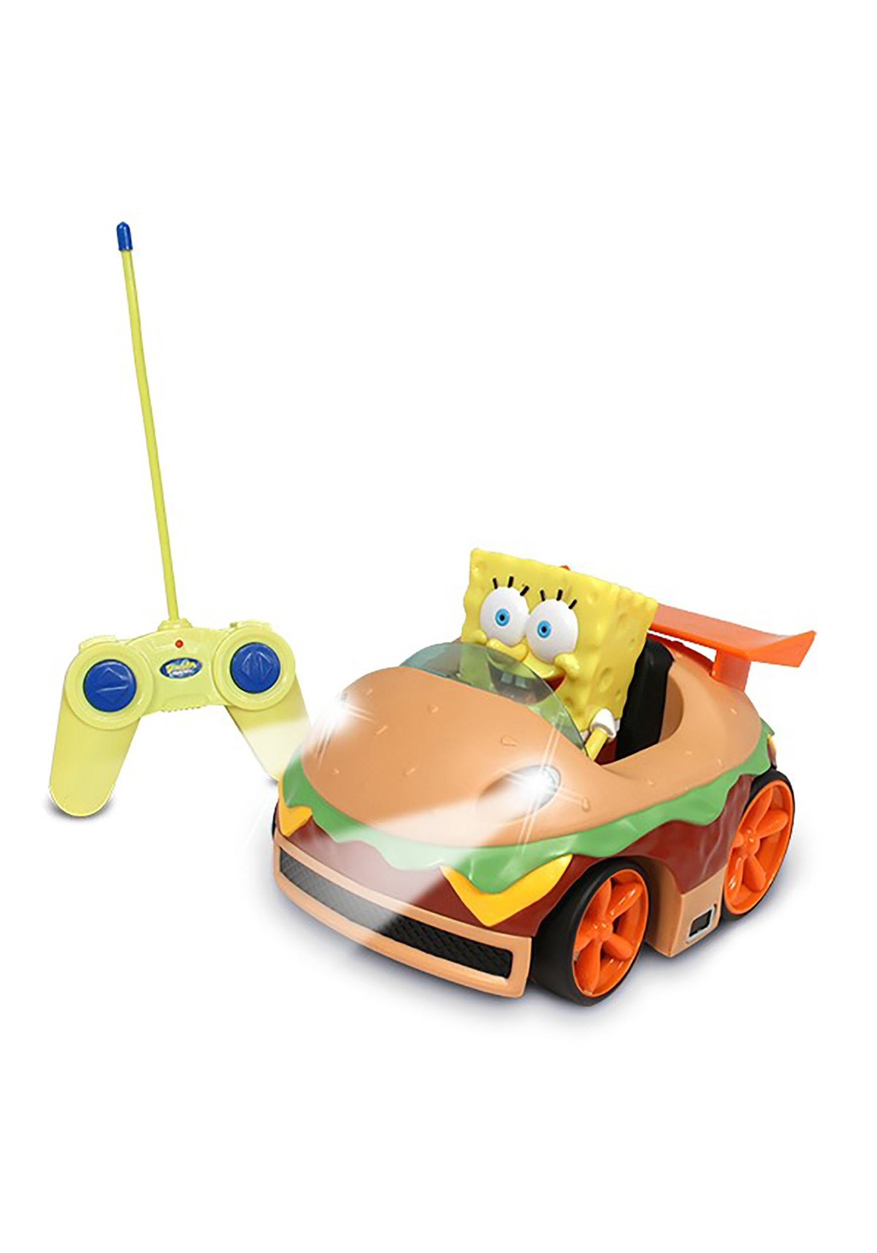 Krabby Patty R/C Car w/ SpongeBob Figure