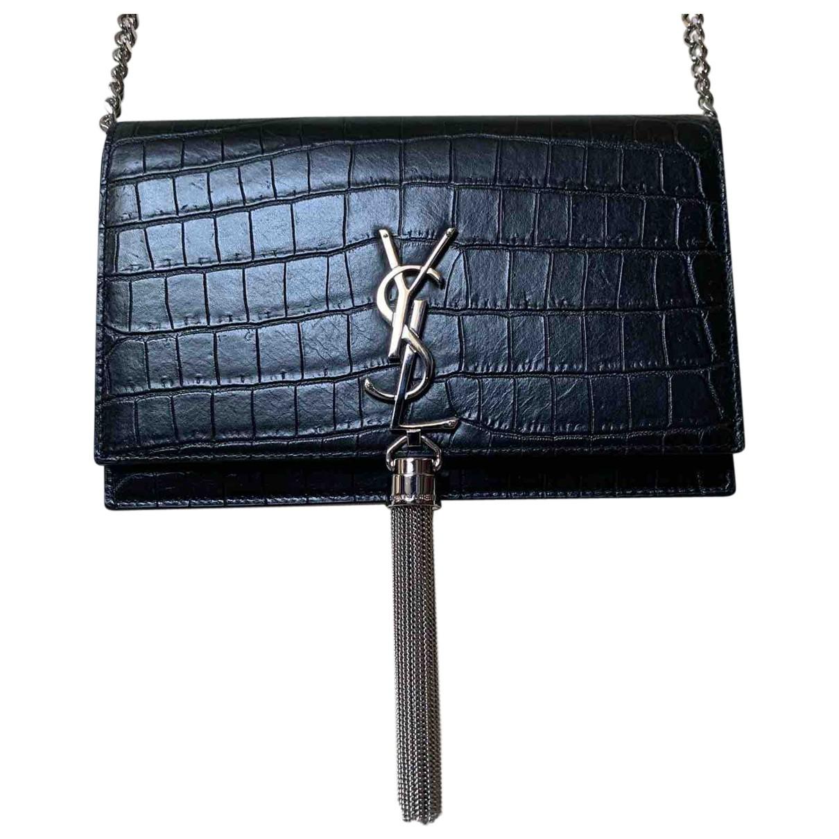 Bolso Kate monogramme de Cuero Saint Laurent