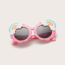 Kids Rainbow Decor Polarized Sunglasses