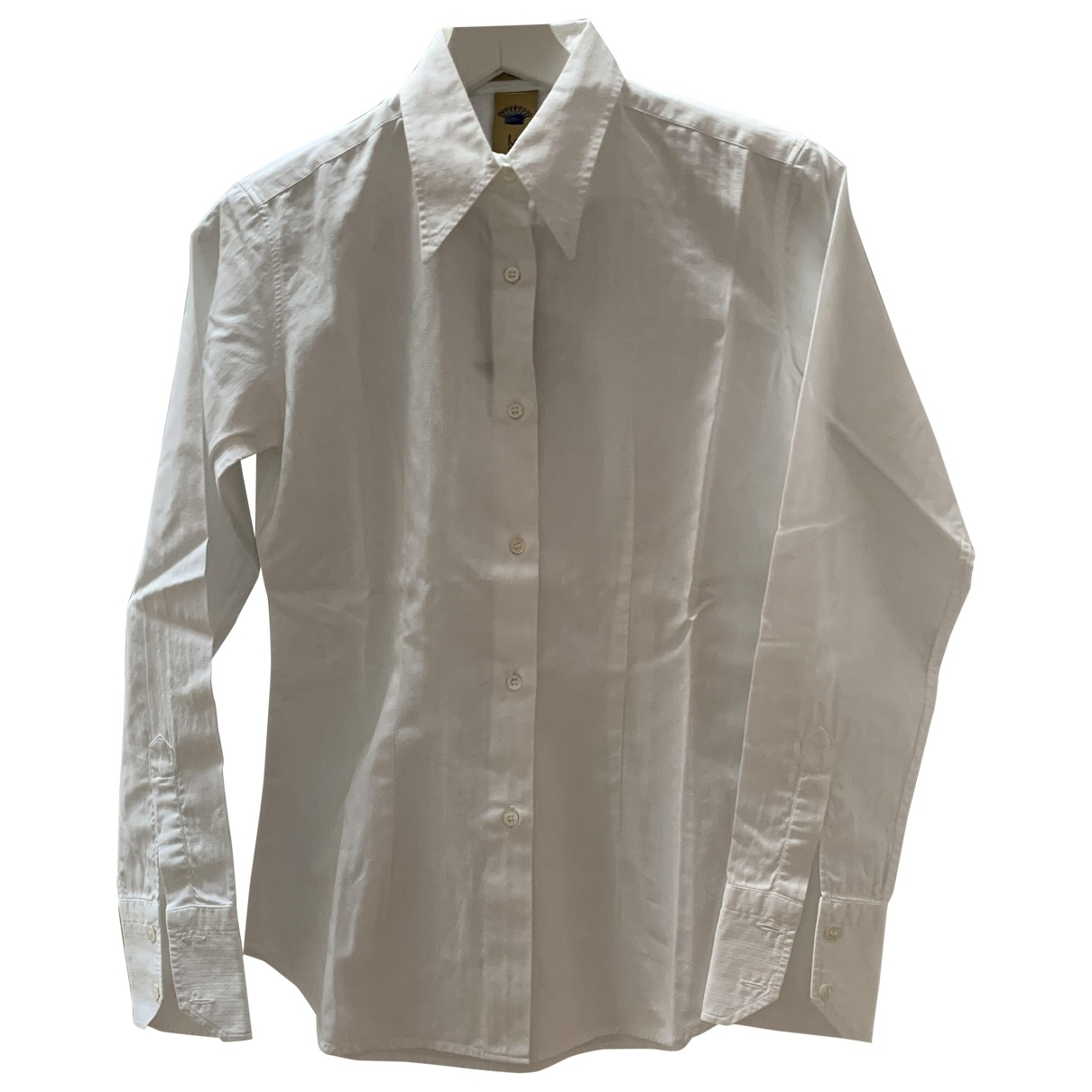 Faberge \N White Cotton  top for Women 40 IT