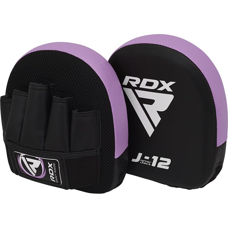 RDX J12 Mitaines pour Enfants Violet Cuir PU