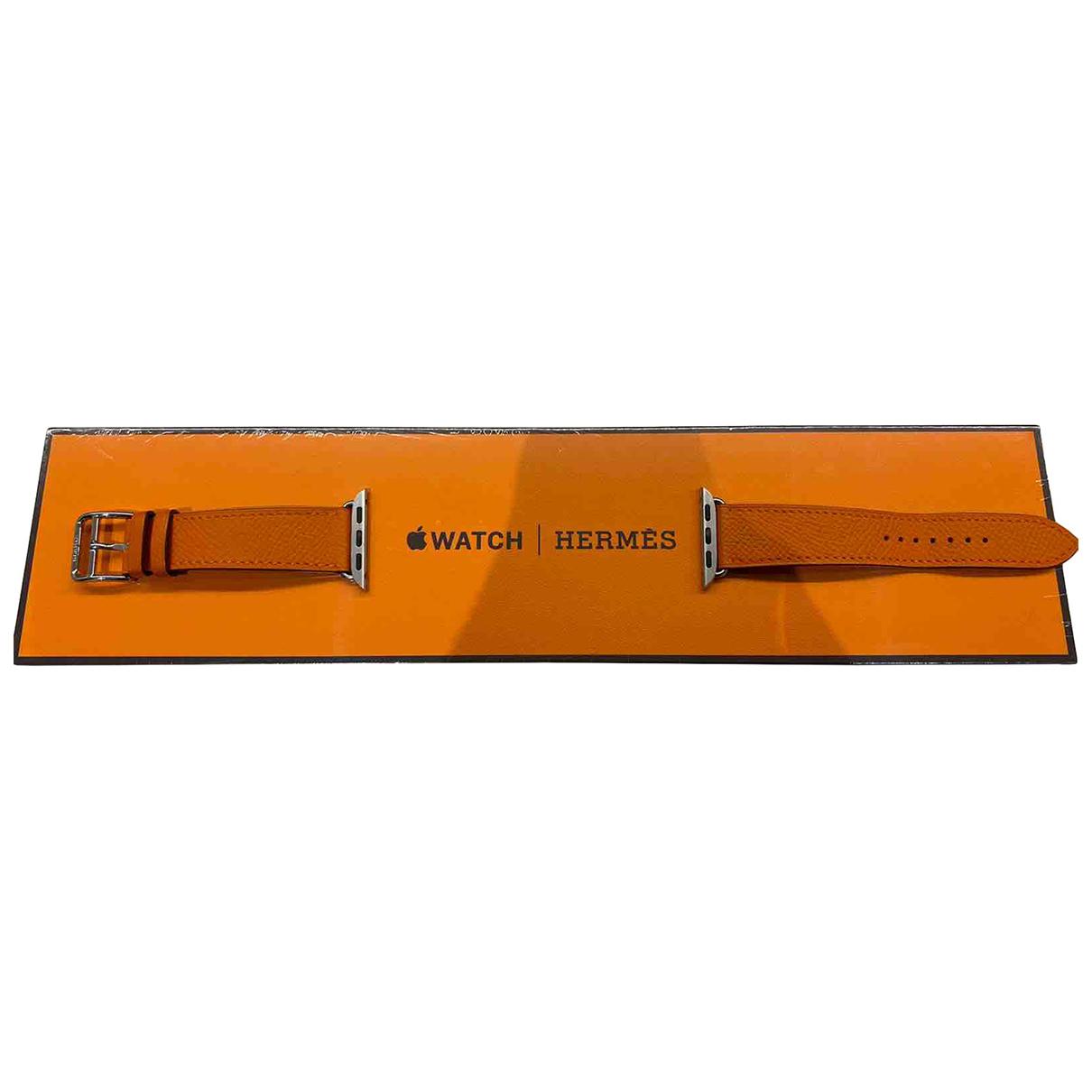 Relojes Apple Watch x Hermes Bracelet de Cuero Hermes