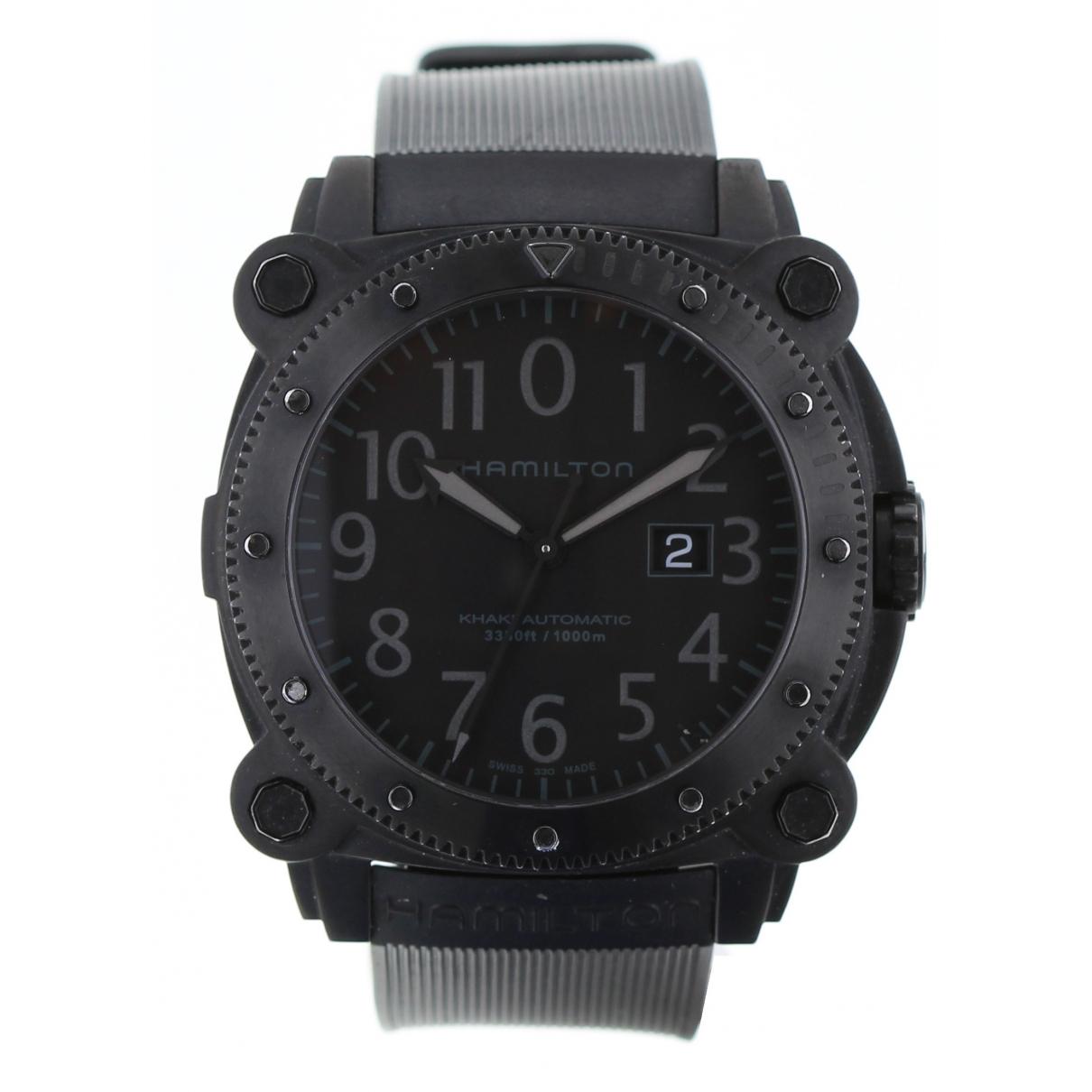 Hamilton \N Silver Steel watch for Men \N