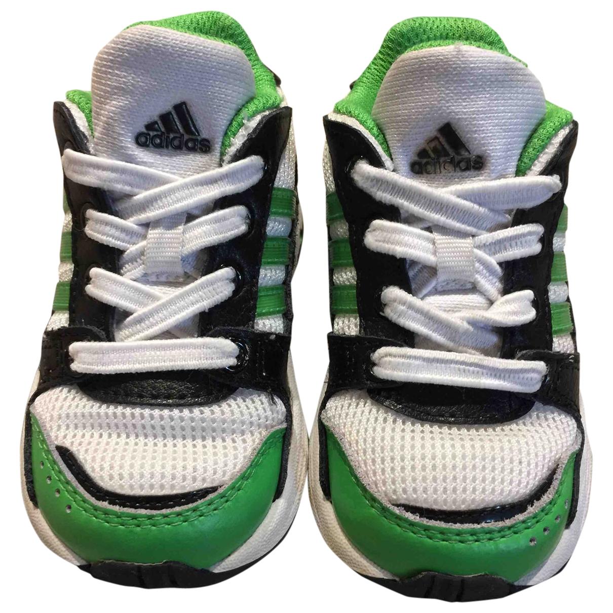 Adidas - Baskets   pour enfant en toile - blanc