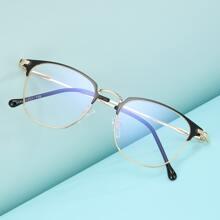 Zweifarbige Brille