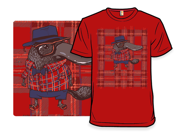 Plaid Before It Was Cool T Shirt