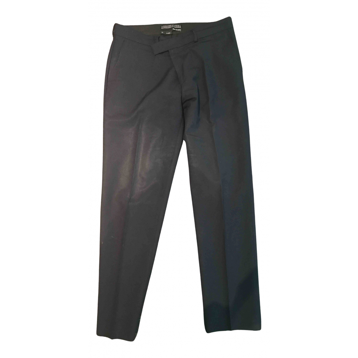 The Kooples Fall Winter 2019 Blue Wool Trousers for Men 50 IT