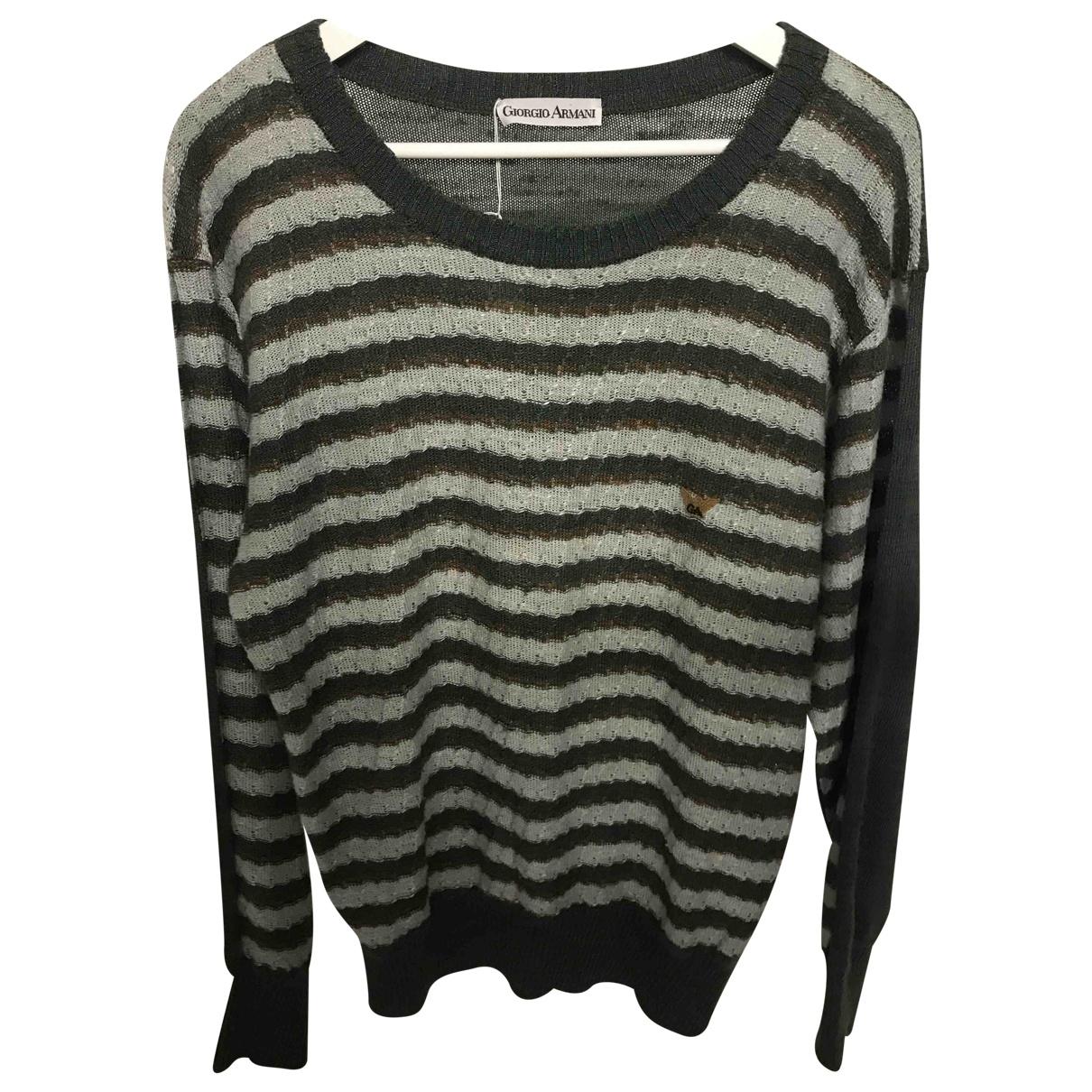 Giorgio Armani \N Pullover.Westen.Sweatshirts  in  Bunt Synthetik