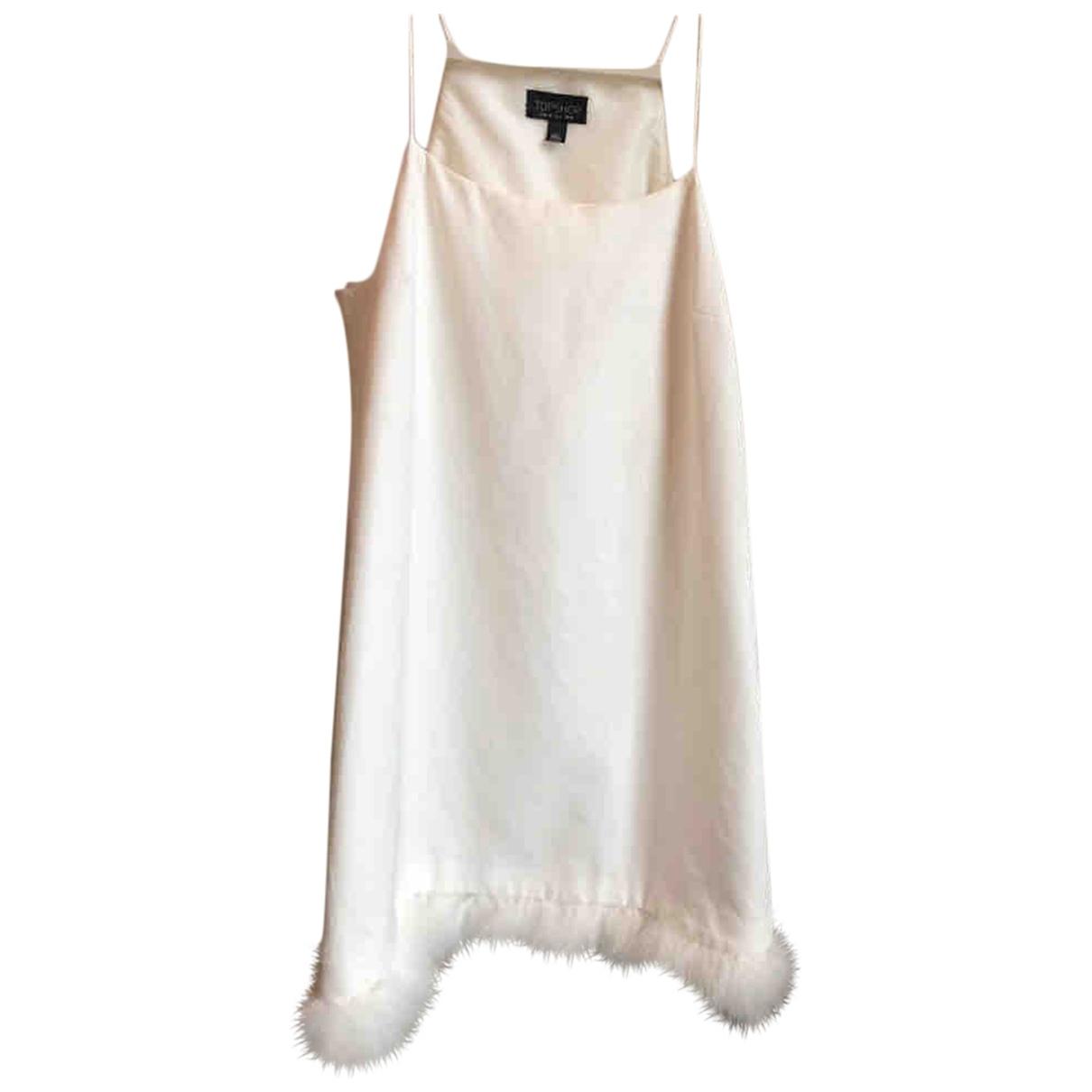 Tophop \N Kleid in  Weiss Baumwolle