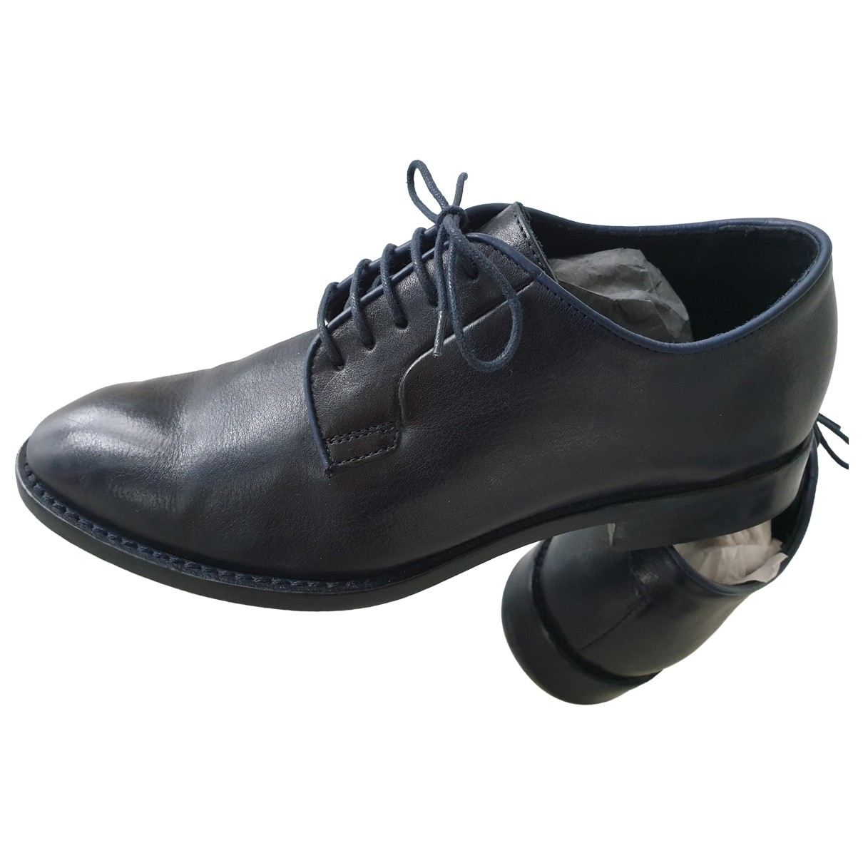 Paul Smith \N Blue Leather Lace ups for Men 40 EU