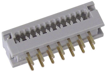HARTING 50-Way IDC Connector Plug for Cable Mount, 2-Row