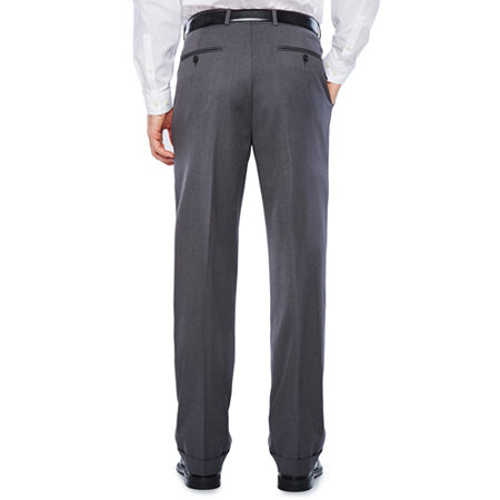 Stafford Travel Wool Blend Stretch Classic Fit Suit Pants, 40 30, Gray