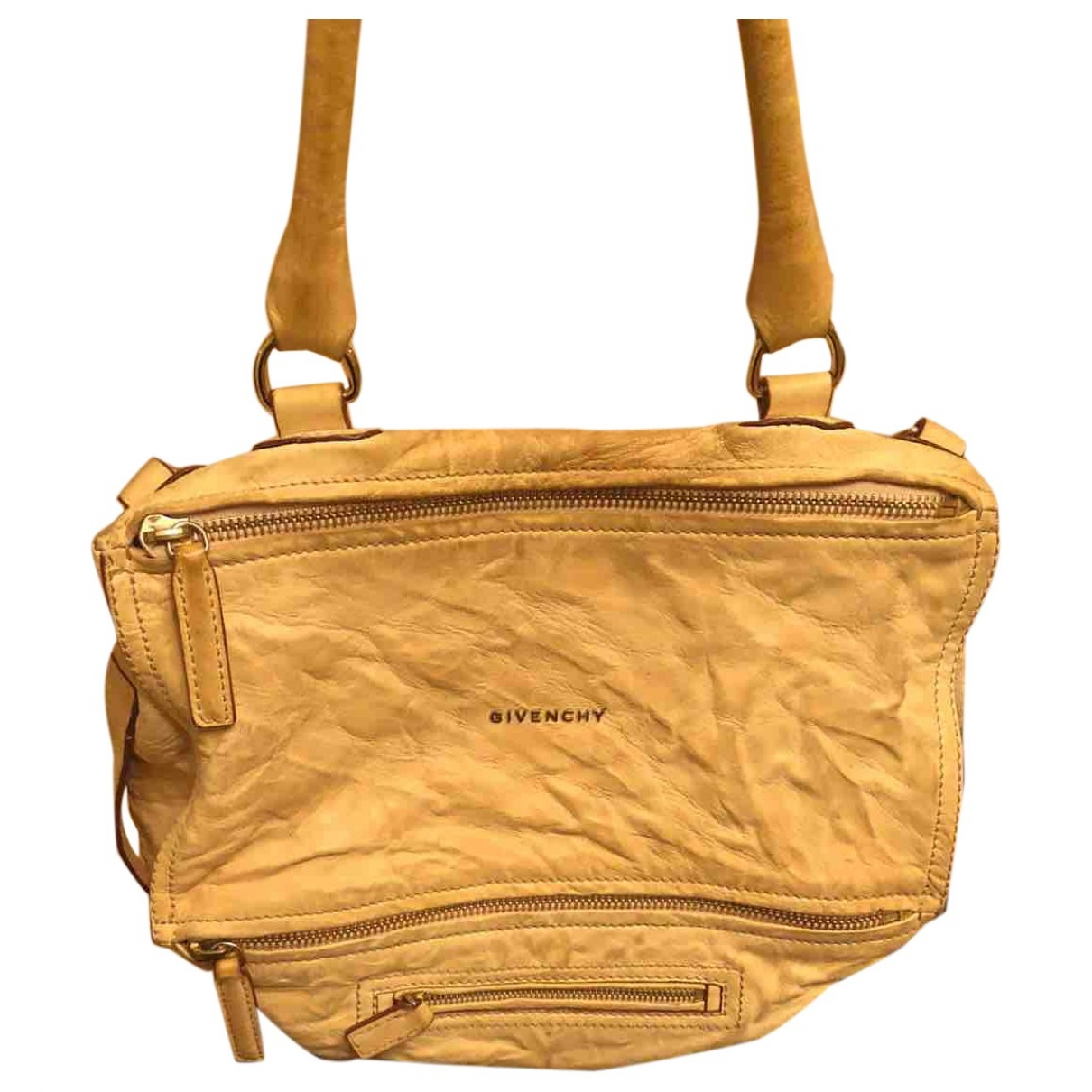Givenchy Pandora Beige Leather handbag for Women \N