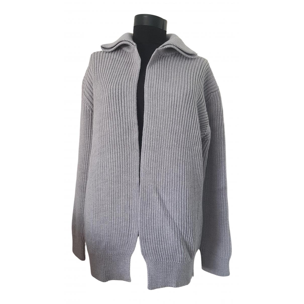 Max Mara - Pull   pour femme en laine - gris