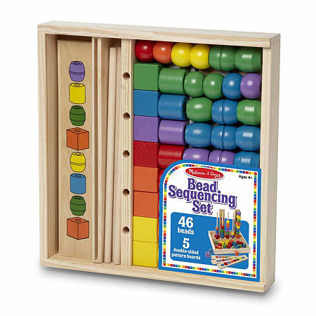 Melissa & Doug Bead Sequencing Set, One Size , Multiple Colors