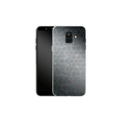 Samsung Galaxy A6 Silikon Handyhuelle - Marble Mermaid Pattern von #basic