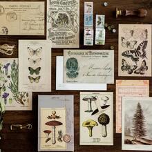30 piezas carta postal con patron vintage