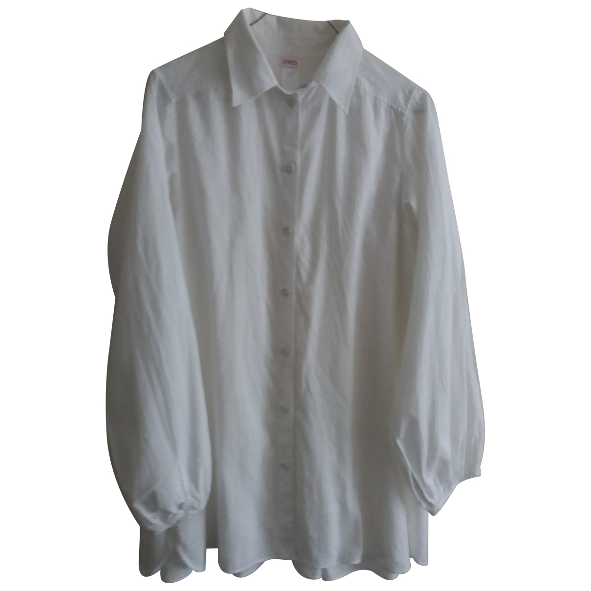 Eres - Top   pour femme en coton - blanc