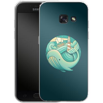 Samsung Galaxy A3 (2017) Silikon Handyhuelle - Into The Ocean von Enkel Dika
