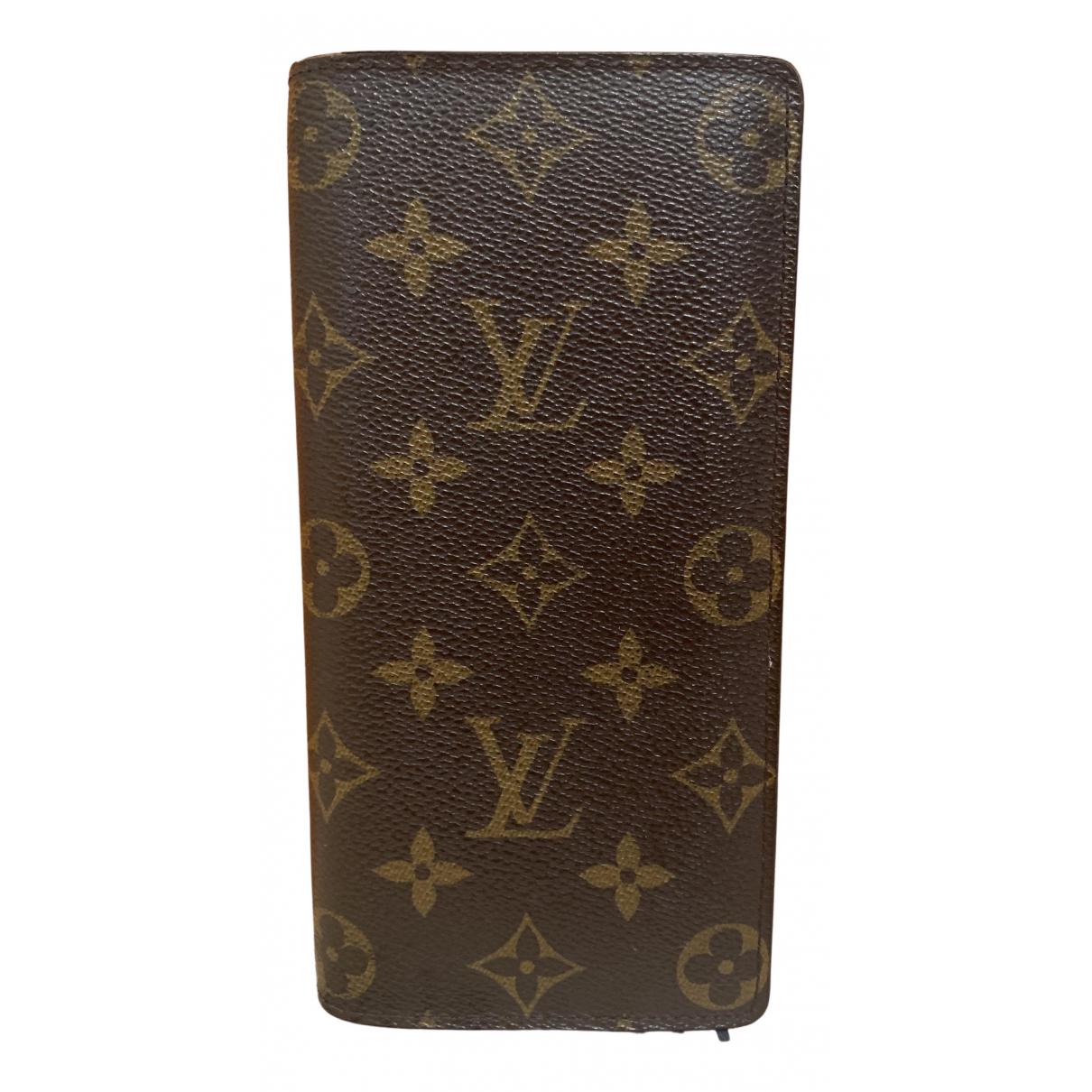 Marroquineria Brazza de Lona Louis Vuitton