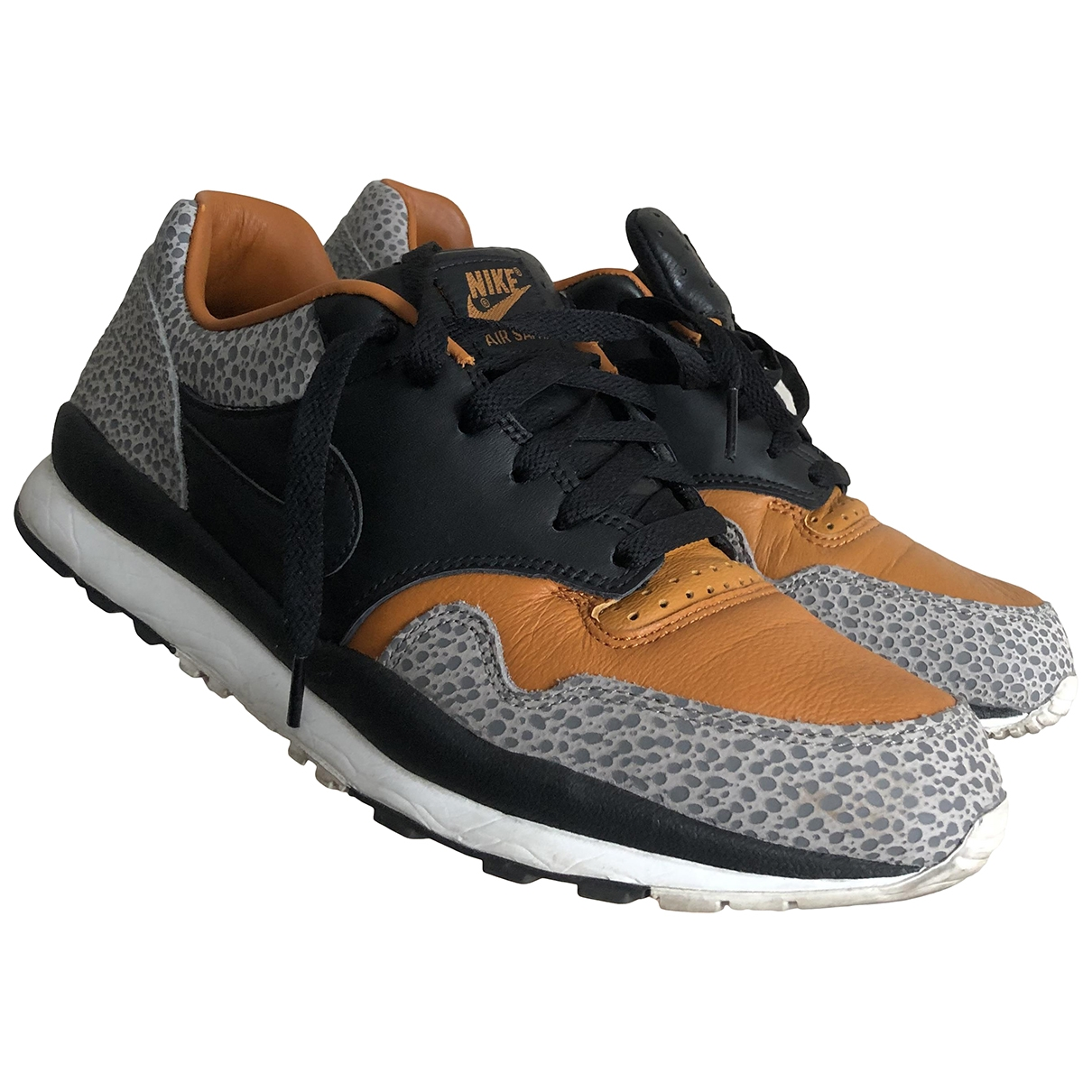 Nike - Baskets Air Safari pour homme en cuir - multicolore