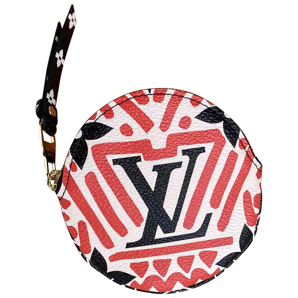 Louis Vuitton \N Kleinlederwaren in  Rot Leinen