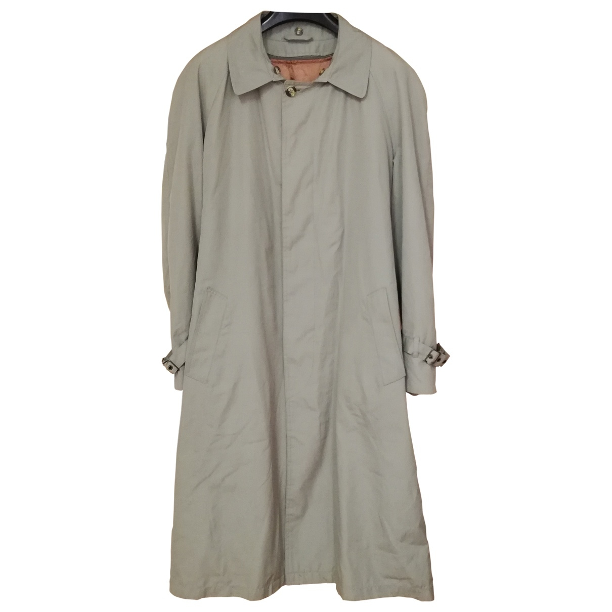 Non Signé / Unsigned \N Green Cotton coat  for Men L International