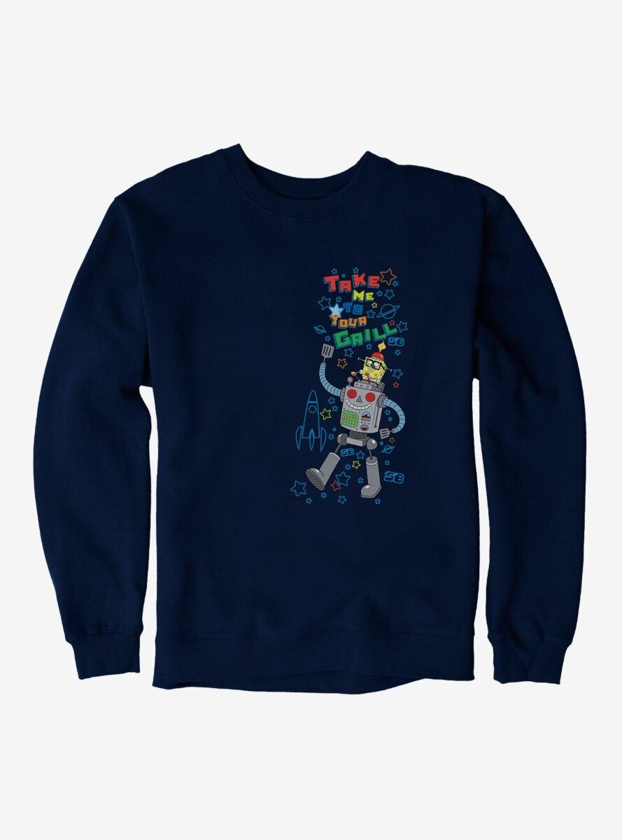 SpongeBob SquarePants Take Me To Your Grill Sweatshirt