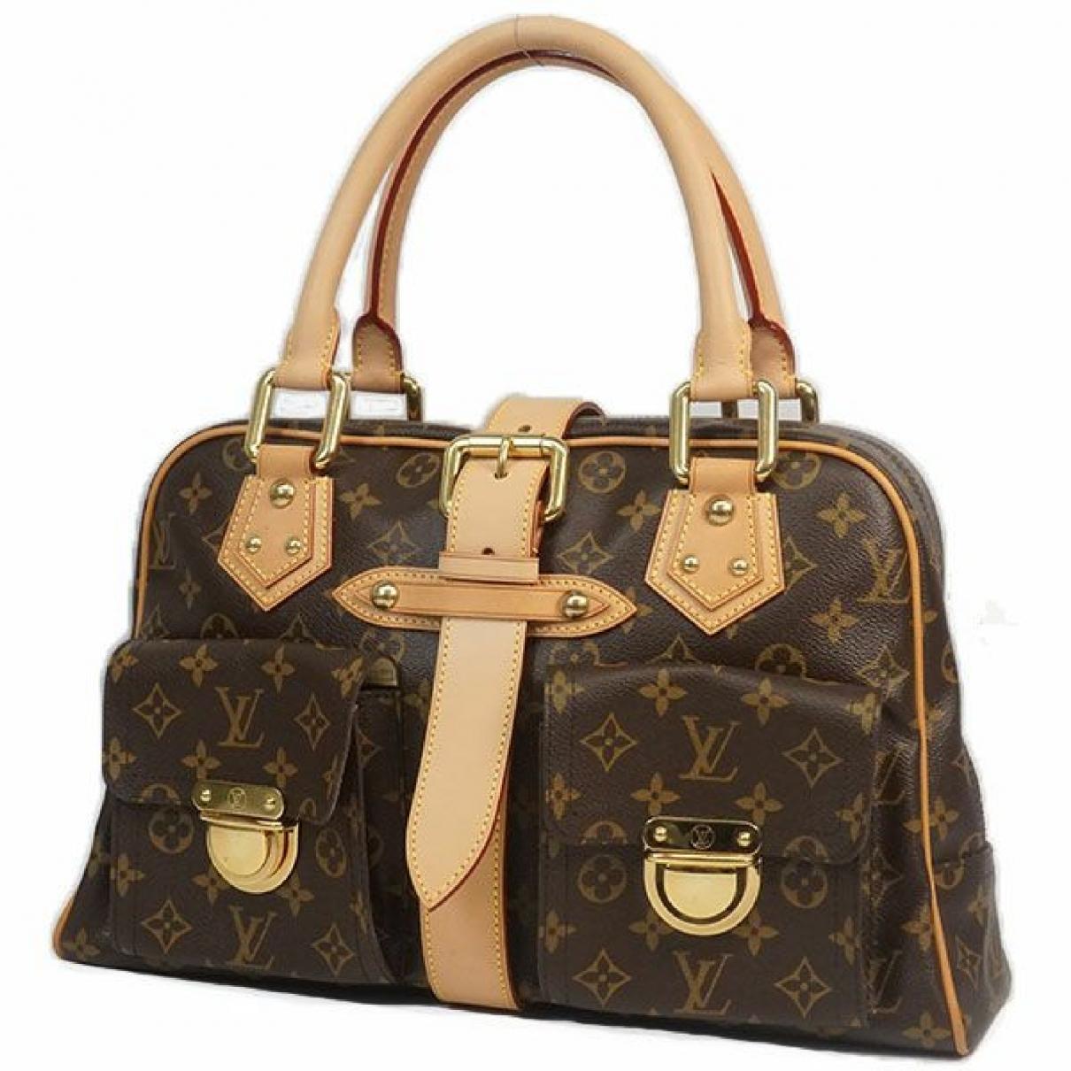 Louis Vuitton \N Brown Cloth Travel bag for Women \N