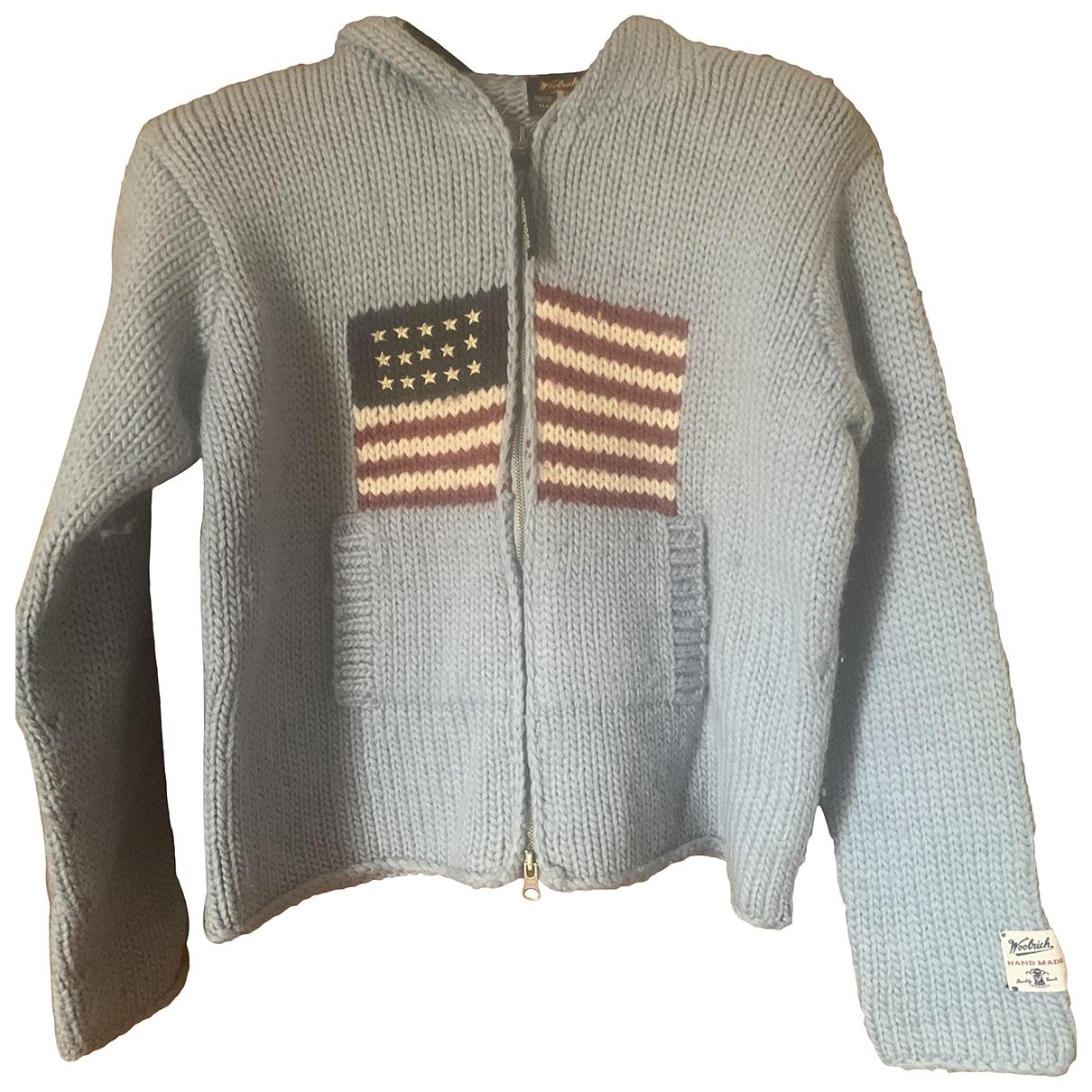 Woolrich \N Pullover, StrickJacke in  Tuerkis Wolle