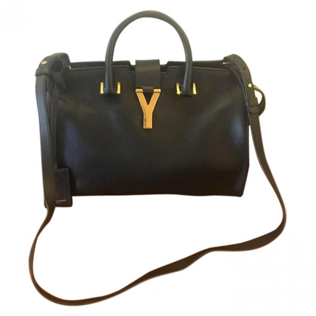 Saint Laurent Chyc Black Leather handbag for Women \N
