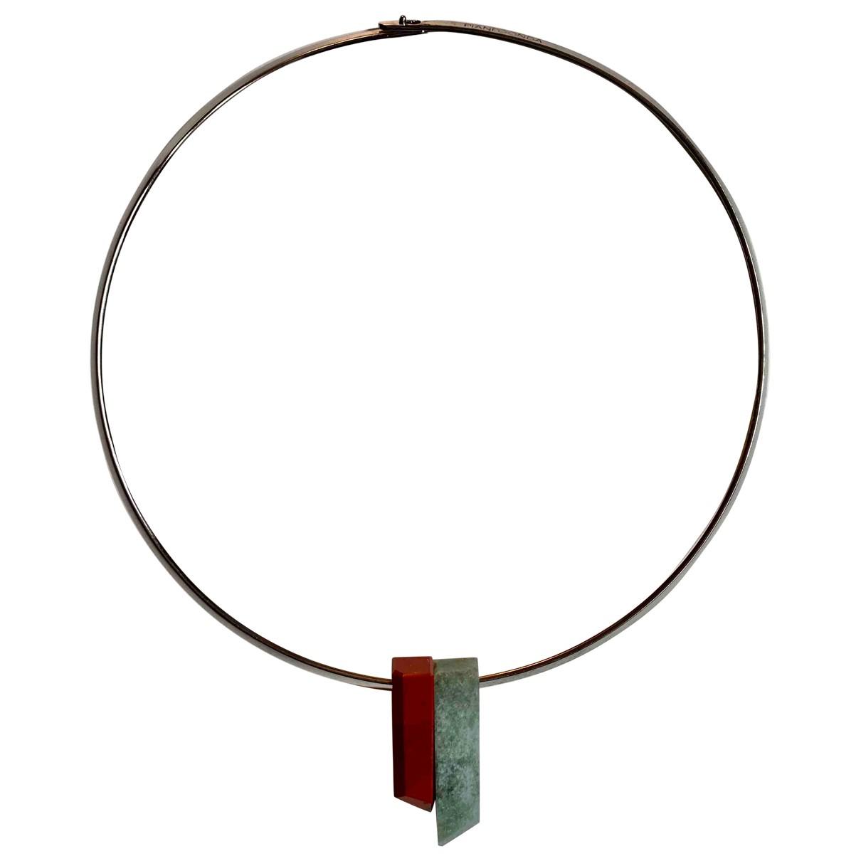 Pianegonda - Collier   pour femme en argent - multicolore