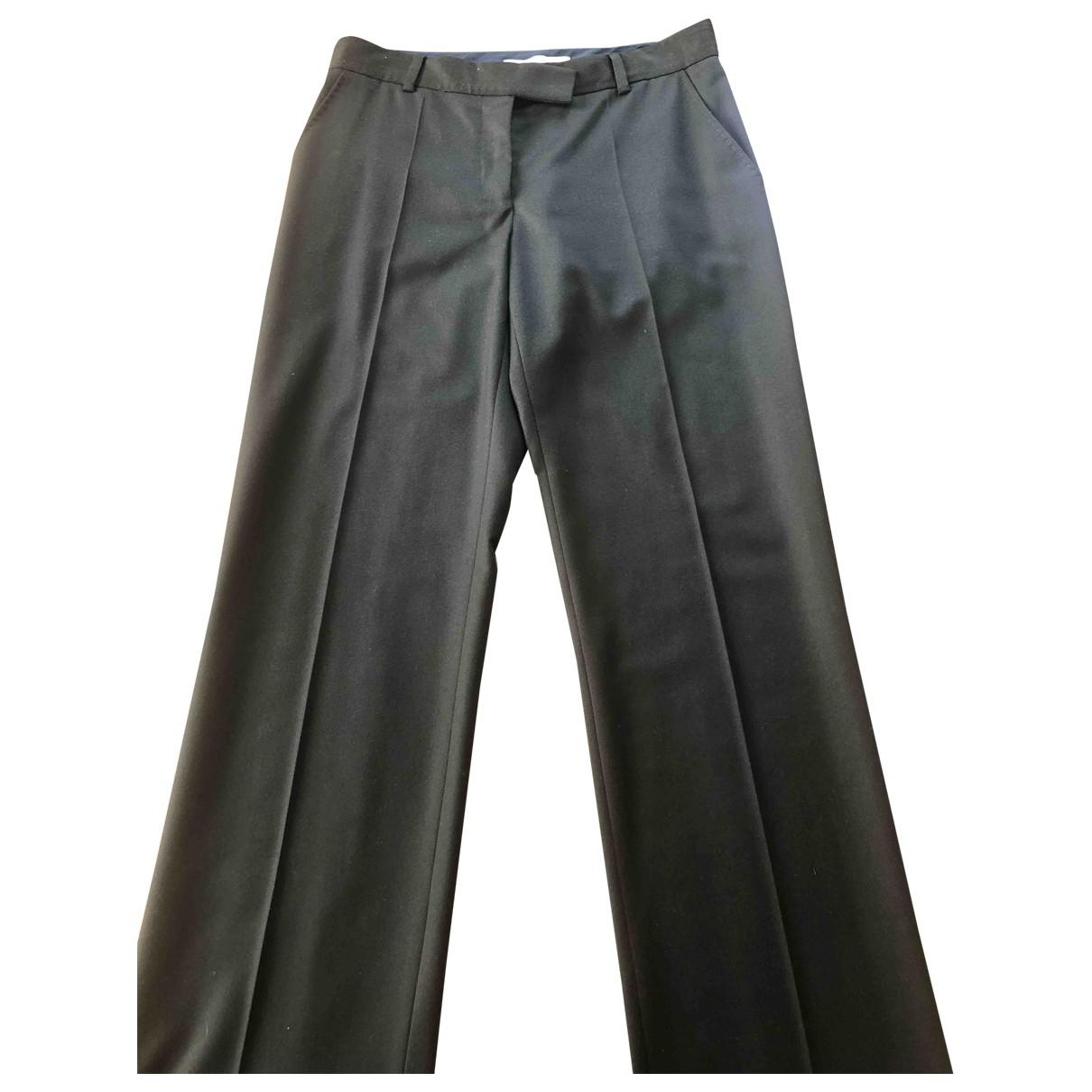 Stella Mccartney \N Khaki Wool Trousers for Women 42 IT