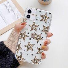 Leopard Star iPhone Case