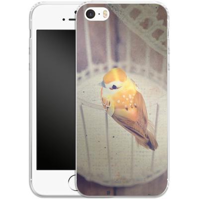 Apple iPhone 5s Silikon Handyhuelle - Vogelfrei II von Marie-Luise Schmidt