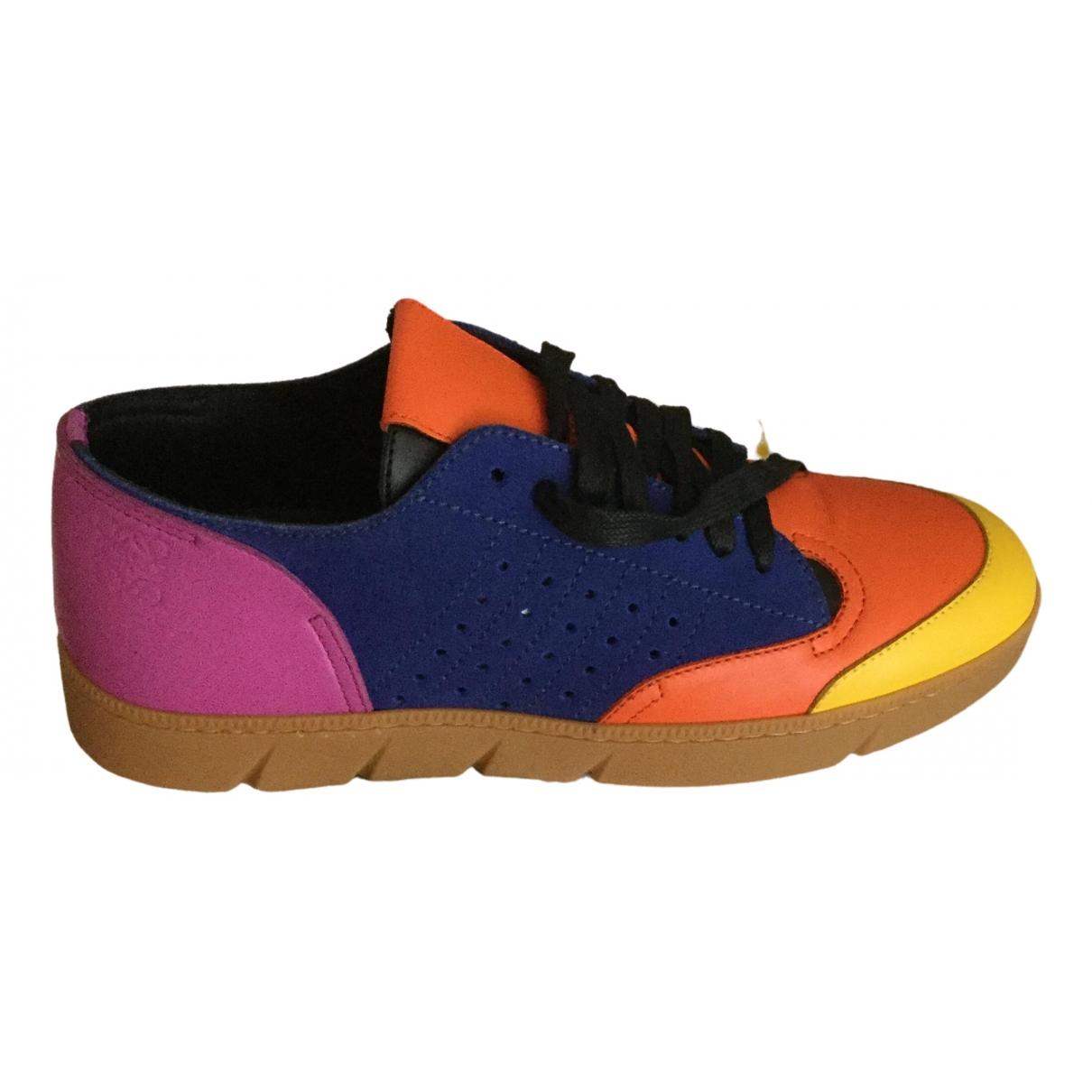 Loewe \N Sneakers in  Bunt Leder
