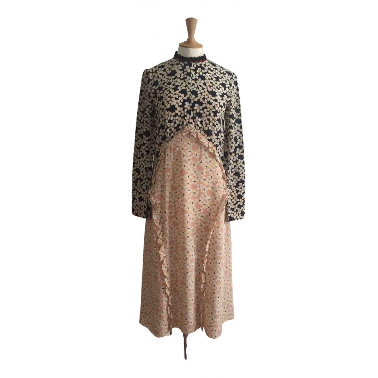 Marni - Robe   pour femme en soie - rose