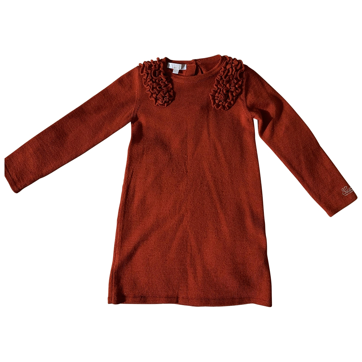 Gucci \N Red Wool dress for Kids 12 months - until 29 inches UK
