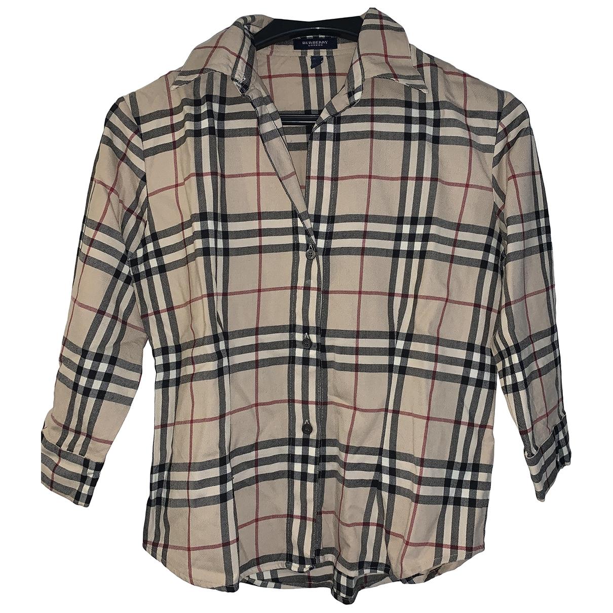 Camisa de Lana Burberry