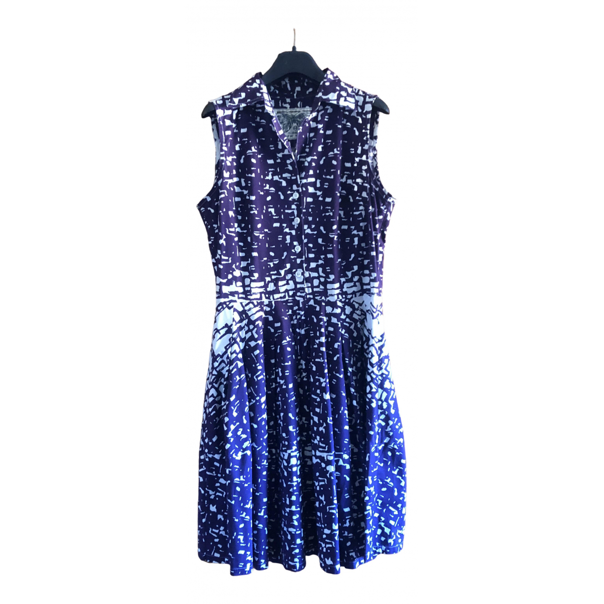 Samantha Sung \N Purple Cotton dress for Women M International