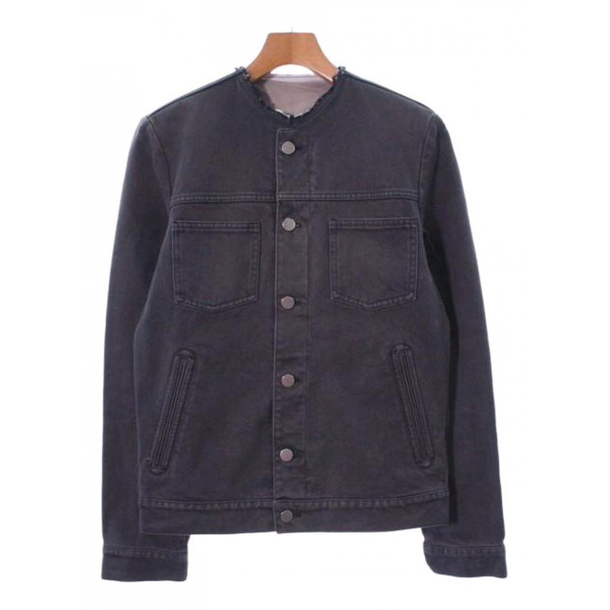 Louis Vuitton \N Grey Denim - Jeans jacket  for Men 46 FR