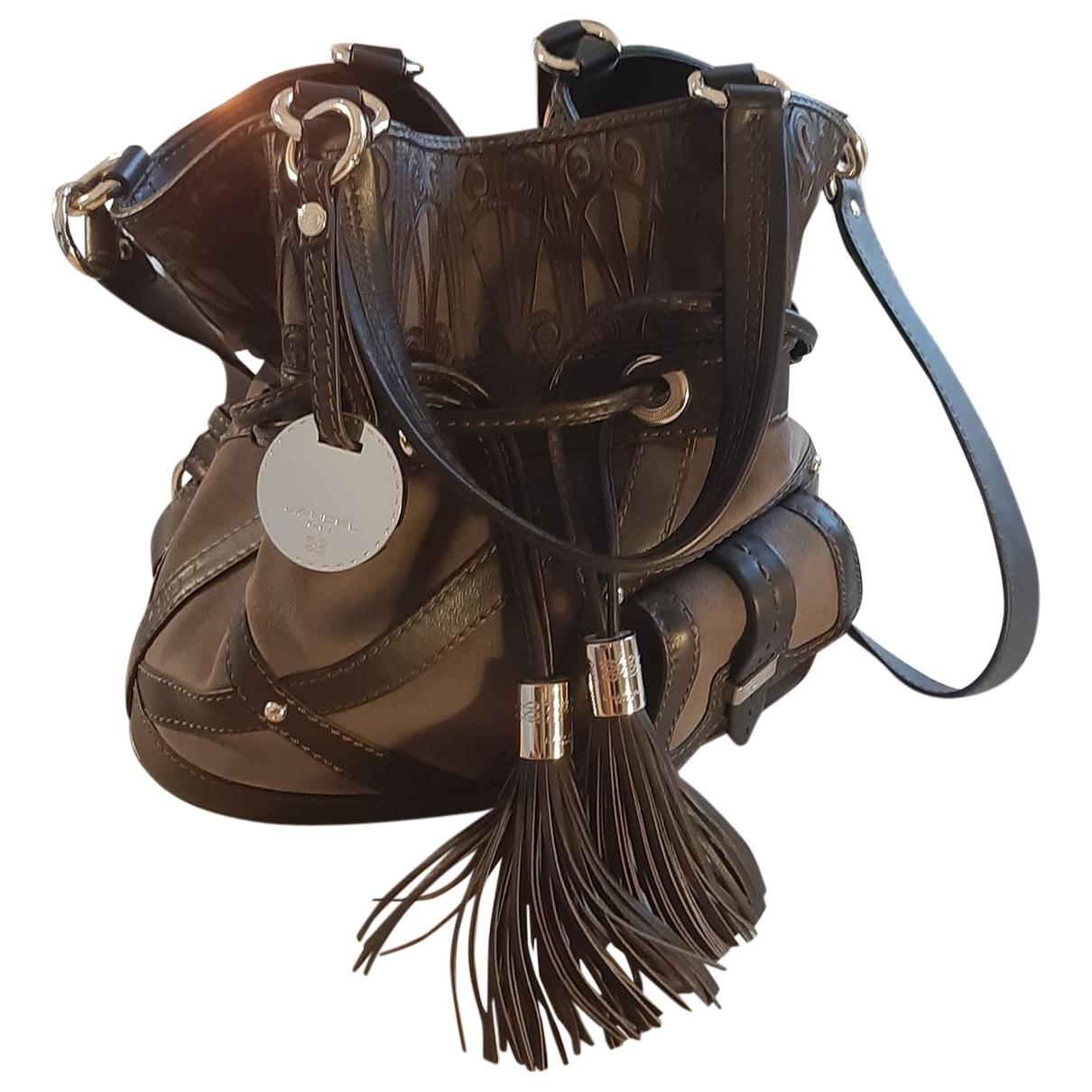 Lancel 1er Flirt Brown Leather handbag for Women \N
