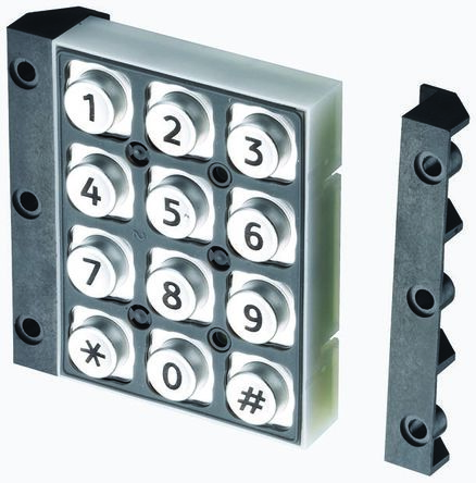 EOZ 12 way keypad, telephone markings